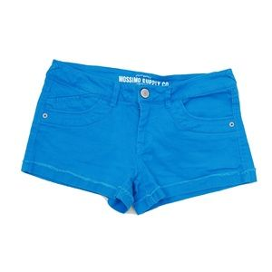 Mossimo Jean Shorts Turquise Jr 9 Fit 6